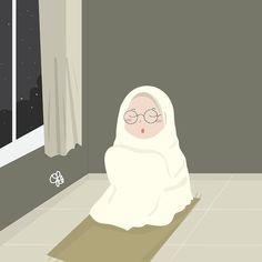 Cartoon Pics, Girl Cartoon, Cartoon Art, Wallpaper Wa, Cartoon Wallpaper, Hijab Drawing, Islamic Cartoon, Anime Muslim, Hijab Cartoon