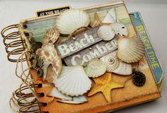Beach Comber Mini Album - Scrapbook.com