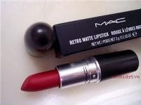MAC Ruby Woo lipstick. I love it like a fat kid loves cake.