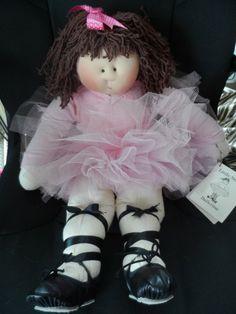 1993 Little Souls Robin Ballerina Doll by Gretchen Wilson