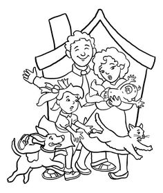 All Family Member Coloring Page : Coloring Sky Family Coloring Pages, Thanksgiving Coloring Pages, Kinds Of Colors, All The Colors, Food Coloring, Coloring Books, Feather Photography, Pokemon Coloring, Online Coloring