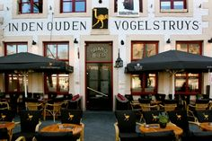 "This is one of the oldest pubs in Maastricht. Conviviality, hospitality and expertise are very important at In den Ouden Vogelstruys. The domestic atmosphere is enhanced by the great music, the friendly staff and the delicious homemade soups like ""zoermoossop"", ""sop vaan Sint Pieter"" and ""kelleversop""."