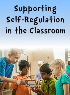 Supporting Self-Regulation in the Classroom - Guest blogger Leah Kalis shares strategies for helping students regulate their thoughts, feelings, and actions to manage stress and control impulses.