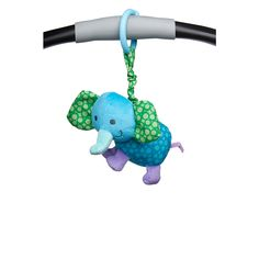 Entertain your little one on the go with this exclusive car seat and stroller toy from Babies 'R' Us! Easy to attach to a car seat or stroller bar, this funny elephant has a cute rattle inside that will make baby smile with a simple shake. Collect all three designs today!<br><br>Perfect for parents that are seeking value while retaining brand name quality, <b>Babies'R'Us</b> offers a complete line of the baby care, baby bath and baby accessories that families are looking for. The…