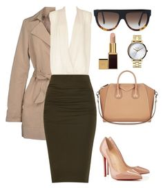 """Untitled #238"" by amoney-1 ❤ liked on Polyvore featuring ONLY, Millie Mackintosh, Tom Ford, Nixon, Christian Louboutin, CÉLINE and Givenchy"