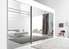 Mirrored closet doors: Mirrored closet doors modern