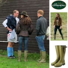 Kate Middleton Photos wearing Le Chameau wellington boots | Birstall Garden & Leisure