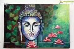 Lotus and budhha