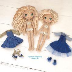 #одеждакукололяки#кукольнаялабораторияоля_ка #olyaka_lab Куколки сестрёнки в нижнем белье с комплектами одежды!  Можно одевать-раздевать, играть короче!