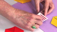 Video: Students don't have to be studying triangles or geometry to enjoy making and playing with flexagon puzzles. These unique puzzles look to be two-sided but magically reveal a third side when folded and flexed