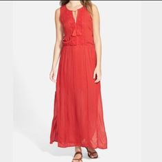 Red Maxi- With Tags Never Worn