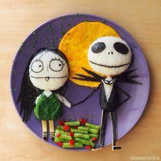 Happy Halloween!   Halloween Inspired Food Art