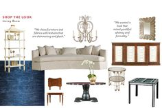 "Shop The Look: Celerie Kemble's ""All About Eve"" Living Room"