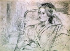 "Pablo Picasso - ""Olga bedridden"". 1921"