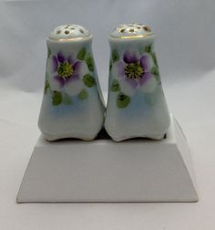 Nippon Gorgeous Vintage Salt and Pepper Shakers  Gift by Pastfinds