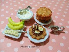 Chocolate + Banana + Ice Cream + Waffles