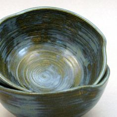 Love homemade pottery. Via etsy shop lurearts