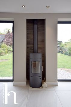 Fantastic Photo Fireplace Hearth with tv Ideas Wood Burning Stove Architectural Design in Macclesfield Open Plan Kitchen Living Room, Open Plan Living, Home Decor Kitchen, Log Burner Living Room, Wood Burner Fireplace, Fireplace Hearth, Fireplaces, House Extension Design, House Design