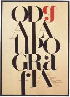 Typography poster design by Pablo Neruda, 1977 #poster