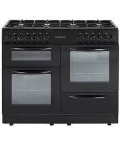 Cookworks CCL100DFB Dual Fuel Range Cooker - Black.
