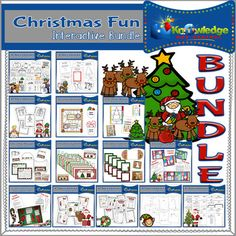Lets get creative with Christmas FUN!  This bundle includes both faith-based and traditional (Santa, Christmas Trees, Stockings, Elves, etc.) Christmas products:You will receive these ebooks:         Christmas Activities Mini-Book        Christmas Coloring & Activity Book        Christmas Grammar Game        Christmas Symbols Lapbook        Legend of the Candy Cane Mini-Lapbook        Christmas Coloring & Writing Prompts        Christmas Knock-Knock Jokes        Christmas Riddles &amp...