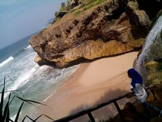 Pacitan Beach, East Java, The wonderful beach with amazing waterfall..you should visit it