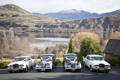 Classic Car Journeys fleet in Queenstown, New Zealand New Zealand, Classic Cars, Journey, Wedding, Image, Valentines Day Weddings, Vintage Classic Cars, Mariage, The Journey