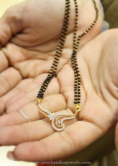Black Bead Mangalsutra Designs 2016, Gold Black Bead Mangalsutra Collections 2016.