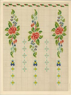 Baby Cross Stitch Patterns, Cross Stitch For Kids, Cross Stitch Heart, Cross Stitch Borders, Needlepoint Patterns, Cross Stitch Flowers, Cross Stitch Designs, Cross Stitching, Folk Embroidery