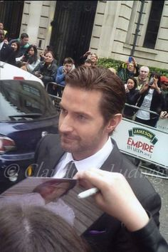 A different angle of a perfect man...Richard Armitage at the Jameson Awards.