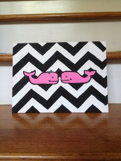 Vineyard Vines Inspired Canvas Painting i absolutely love Cute Crafts, Diy And Crafts, Arts And Crafts, Vinyard Vines, Dorm Art, Workshop, Craft Gifts, Canvas Wall Art, Art Projects