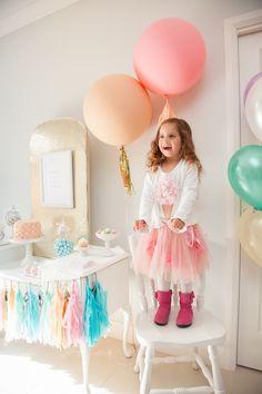 Leuk idee voor een verjaardag van een meisje! www.kekstyle.nl #partyplanning #partyideeen #partydecoratie