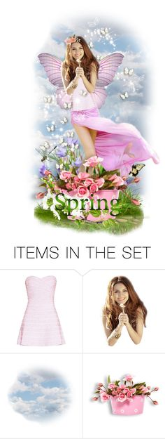 """""""Miss Sping"""" by mt3fisher ❤ liked on Polyvore featuring art"""