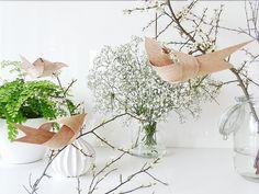 Frühlings-DIY: Vögel aus Furnier von Mammilade | SoLebIch.de #interior #einrichtung #einrichtungsideen #deko #dekoration #decoration #living #osterdeko Foto: Mammilade
