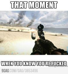 xD Funny Video Game Memes, Video Game Logic, Funny Gaming Memes, Really Funny Memes, Funny Games, Stupid Funny Memes, Funny Relatable Memes, Funny Videos, Battlefield Memes