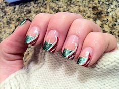 38 Best Nails Images Christmas Nails Christmas Manicure Pretty Nails