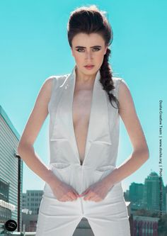 Portland Fashion Week Spring '14   Designer: Kate Troedsson  Hair and Makeup: Dosha Creative Team