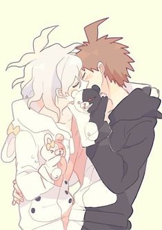 Danganronpa 2 Nagito x Hinata - Google Search