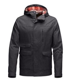 Be ready for conditions to change on a dime during all-day outdoor exploration with this 3-in-1 layering system that pairs an ultralight stretch shell jacket with a zip-in PrimaLoft® ThermoBall™ jacket that's crafted with lightly insulated PrimaLoft® sleeves. Wear these jackets together in cold, wet conditions or separately as weather permits.