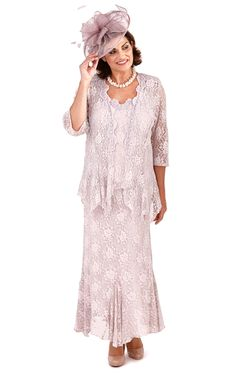 Ann Balon Mother of the Bride Plus Size Dresses & Special Occasion Outfits Mother Of Bride Outfits, Mothers Dresses, Bride Dresses, Wedding Dresses For Older Women, Mother Of The Bride Plus Size, Aurora Dress, Special Occasion Outfits, Romantic Outfit, Woman Standing