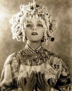 Dolores Del Rio was a very famous actress in her time. This is circa 1930.