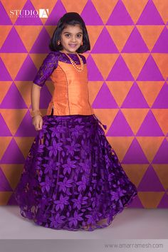 Beautify the looks of your little doll in this stylish net skirt and top. This unique and rare color combination will instantly brighten up any day. Frocks For Girls, Little Girl Dresses, Girls Dresses, Baby Dresses, Kids Dress Wear, Kids Gown, Kids Wear, Children Dress, Baby Frocks Designs