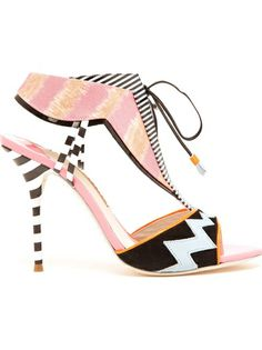 SOPHIA WEBSTER Leilou Cut-Out Sandals