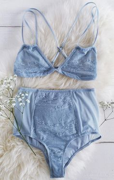 d8b71292efe0d Billabong Lacy Daze Light Blue Lace Bralette