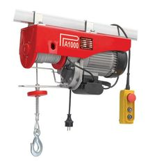 Winch electric hoist Holzmann elevation Kg m Transmission, Outdoor Power Equipment, Road Trip, Products, Champagne, Street Style, Workout, Illustration, Garden