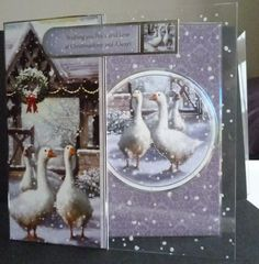Card made from hunkydorys new Winter Wonderland Collection