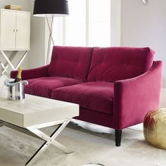 I think this is contemporary enough for me and traditional enough for the husband... Love the color, too!