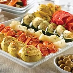 Roasted Vegetable Tapas