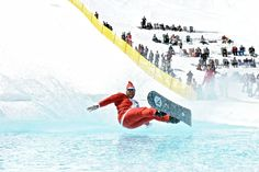 The Keystone end of season Slush Cup 2012 is in the books!  With a splash!