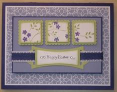 Inchies Easter Card by NaomiW - Cards and Paper Crafts at Splitcoaststampers